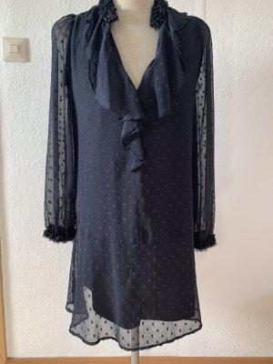 Süßes dunkelblaues Kleid von Zara