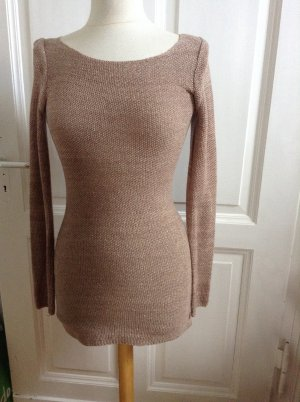 Süßes Edel Strickkleid VILA Clothes Minikleid Long-Pulli Kleid S