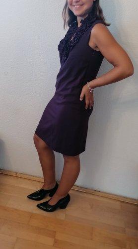 Esprit Robe mi-longue violet foncé