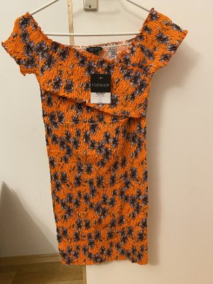 Süßes geripptes Kleid von Topshop
