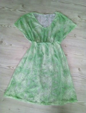 Infinity woman Beach Dress green-mint