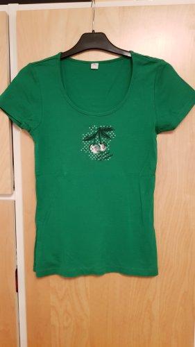 Süßes, grünes T-Shirt Gr.38
