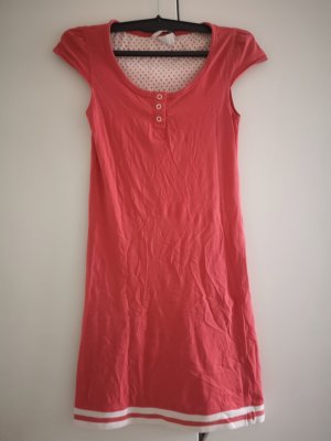 H&M House-Frock orange-red