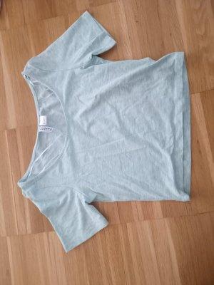 Süßes hellgrünes mint Crop Shirt XS