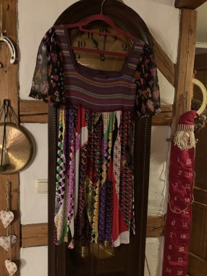 Comma Vestido Hippie multicolor