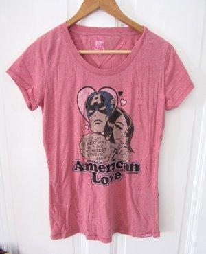 Hilfiger Denim Camicia lunga rosa Cotone