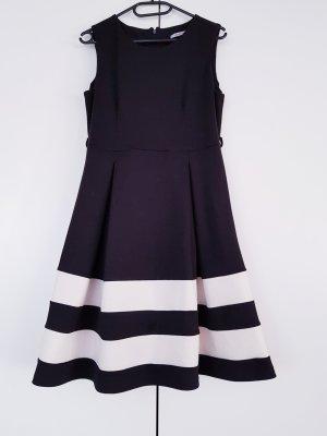 süßes hochwertiges Kleid im Sixties-Stil, schwarz weiß, Größe M