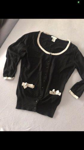 H&M Torera negro-blanco