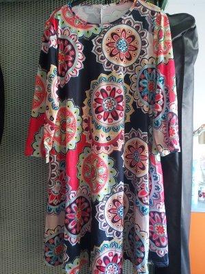süsses Jersey Kleidchen in schöner Farbkombi # NEU #  Grösse D 40/D 42