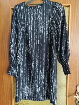 Devided von H&M Midi Dress white-black