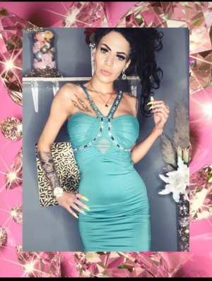 Muse Evening Dress turquoise
