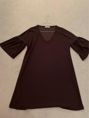 Mango Balloon Dress black