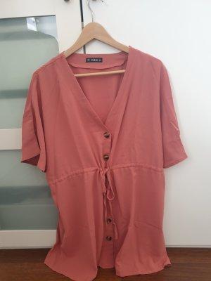SheIn Beach Dress rose-gold-coloured