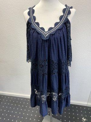 Hippie Dress dark blue
