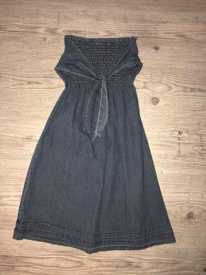 Süßes Kleid in Jeansoptik S