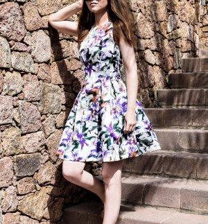 H&M Mini vestido multicolor