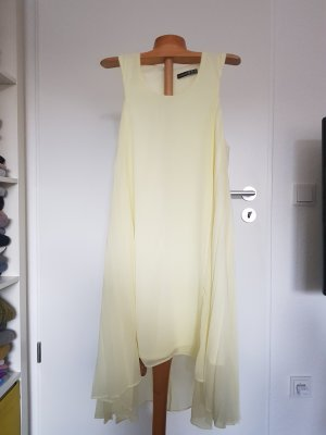 Atmosphere High Low Dress primrose-pale yellow