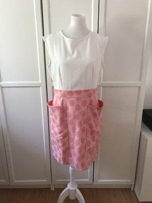 Süßes Kleid mit Reisverschluss