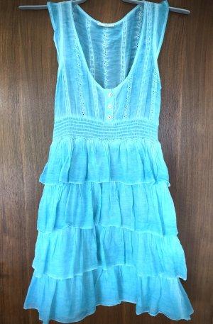 Süßes Kleid mit Spitze von DEPT in hellblau S XS