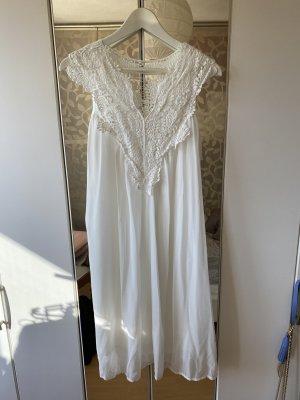 ❤️ Süßes Kleid mit Spitze - weiß