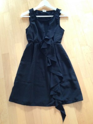 Object Vestido estilo flounce negro