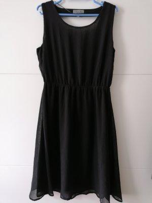 Fresh made Vestido línea A negro