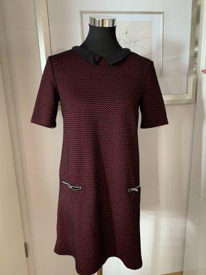 Süßes Kleid von H&M, Größe 38 in rot/schwarz