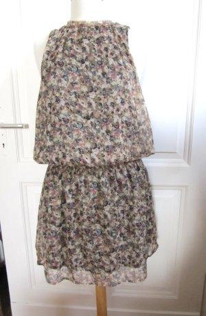 H&M Vestido babydoll multicolor Poliéster