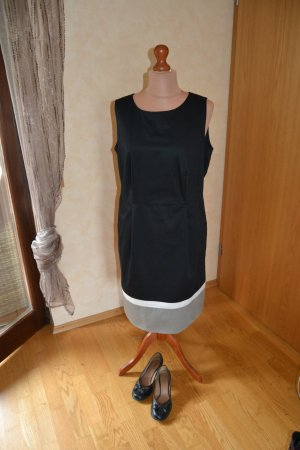 Süßes Kleid von Taifun in schwarz/weiß/grau