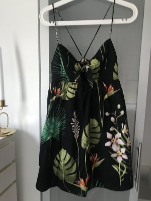 Zara Letnia sukienka Wielokolorowy