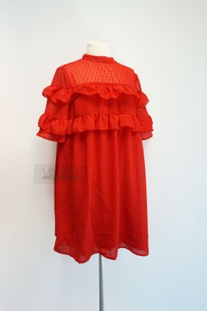 Influence Babydoll Dress bright red-red