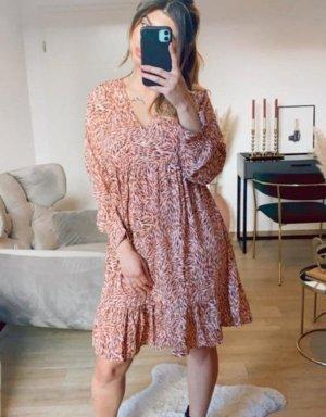Boutique Comtesse Sukienka tunika w kolorze różowego złota
