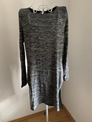 Tom Tailor Denim Chemise côtelée gris-noir