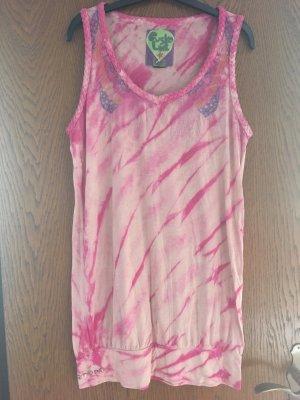 Custo Barcelona Camicia lunga rosa chiaro-rosa