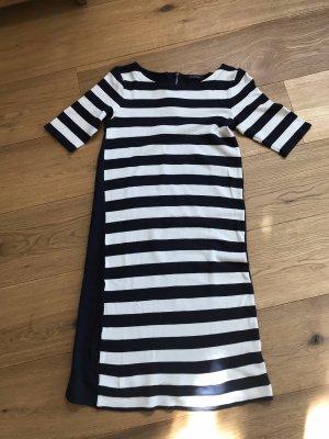Marc O'Polo Sukienka dresowa ciemnoniebieski-w kolorze białej wełny