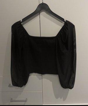 Only Camisa de malla negro