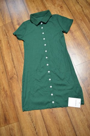 Polo Dress dark green