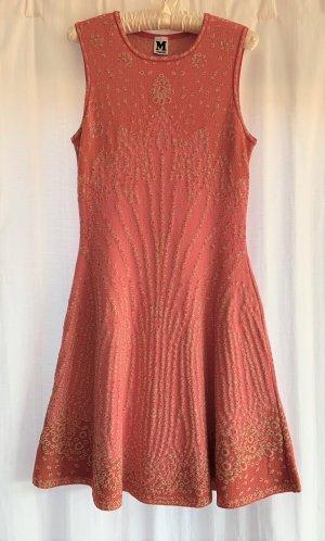 süßes Missoni Kleid in rosa und gold