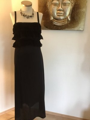 Süßes Nachthemd schwarz lang Gr.