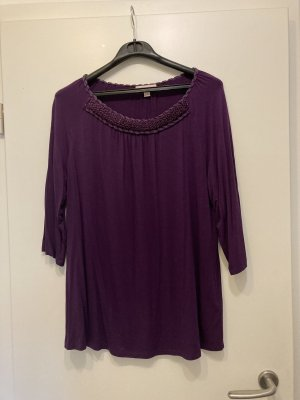 Laurèl Long Shirt dark violet-lilac