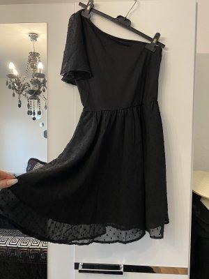 Vestido de chifón negro