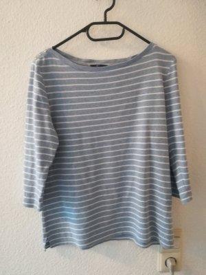 Olsen Maglietta a righe bianco-azzurro