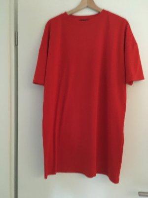 Amisu Robe mi-longue rouge
