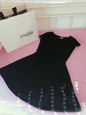 H&M Divided Sukienka z baskinką czarny