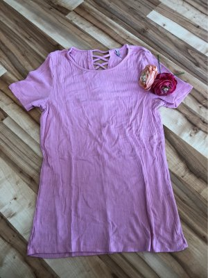 Only Camicia a coste rosa