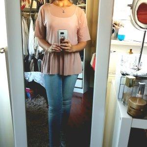 Süßes Shirt in rosa von Only