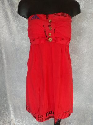 Corsage Dress bright red