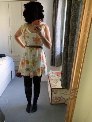 Amisu A-lijn jurk veelkleurig