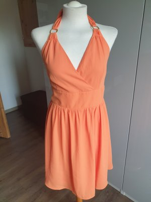 Orsay Halter Dress light orange