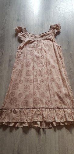 Süßes Sommerkleid mit zartem Floralprint